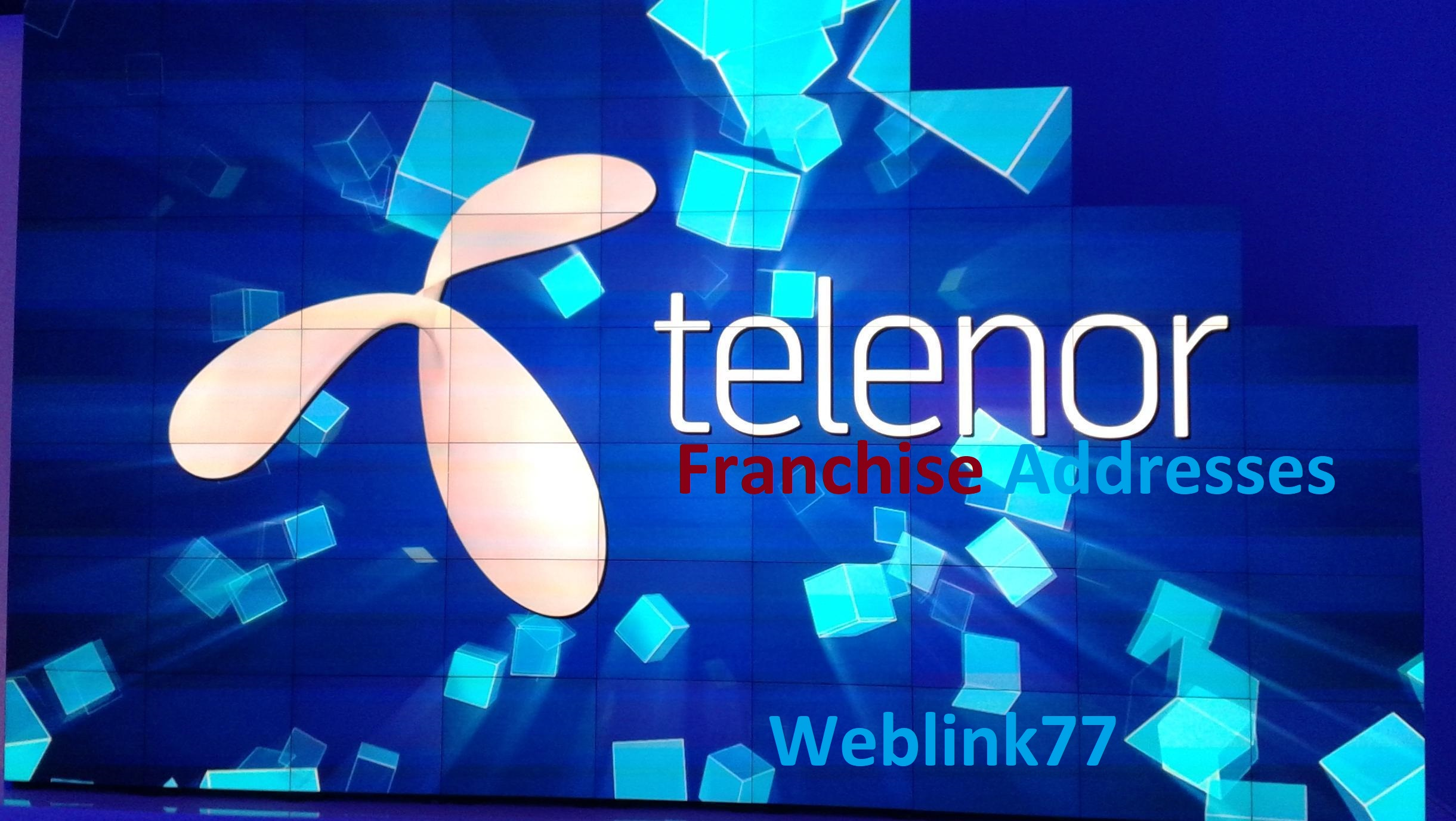 Telenor Franchise Addresses Pakistan
