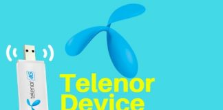 Telenor device Packages
