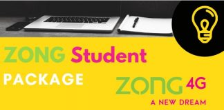 Zong Student Package