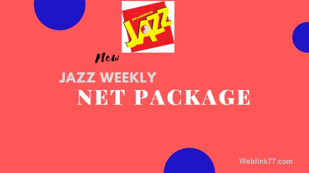 Jazz weekly net package