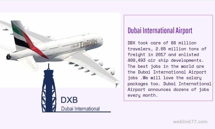 DUBAI INTERNATIONAL AIRPORT FACTS AND FIGURE