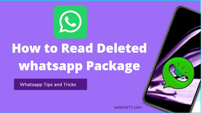How to Read WhatsApp Deleted