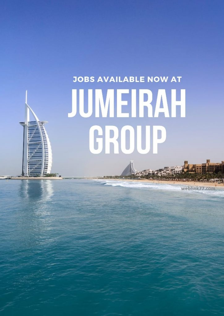 How to apply for Jobs at Jumeirah Group