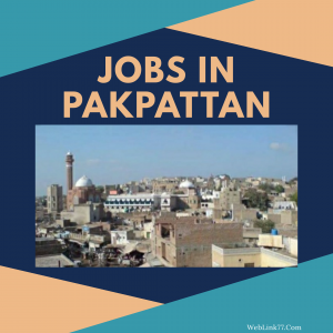 New Jobs in Pakpattan, Accounts, Operator, Clerk