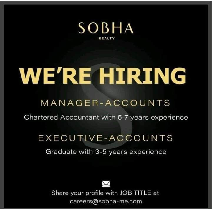 Account Manager, executive accountant Job in Dubai