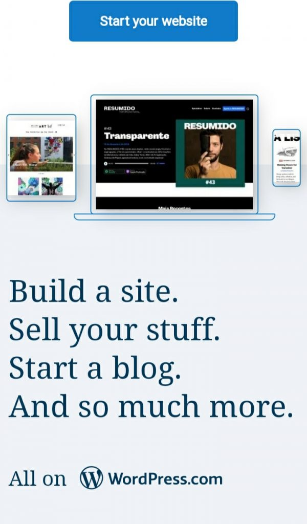 How to Create Your Website