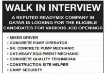 Software developer, Admin, Procurment, Driver, Mechanic, helper, Operator, 10+ Engineering Jobs in Qatar