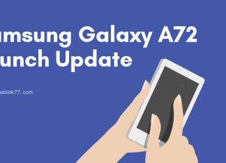 Samsung Galaxy A72 Launch update