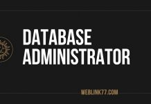 Database administrator Job in Dubai 2021